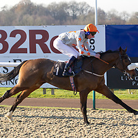Thecornishcowboy and Adam Kirby winning the 12.00 race
