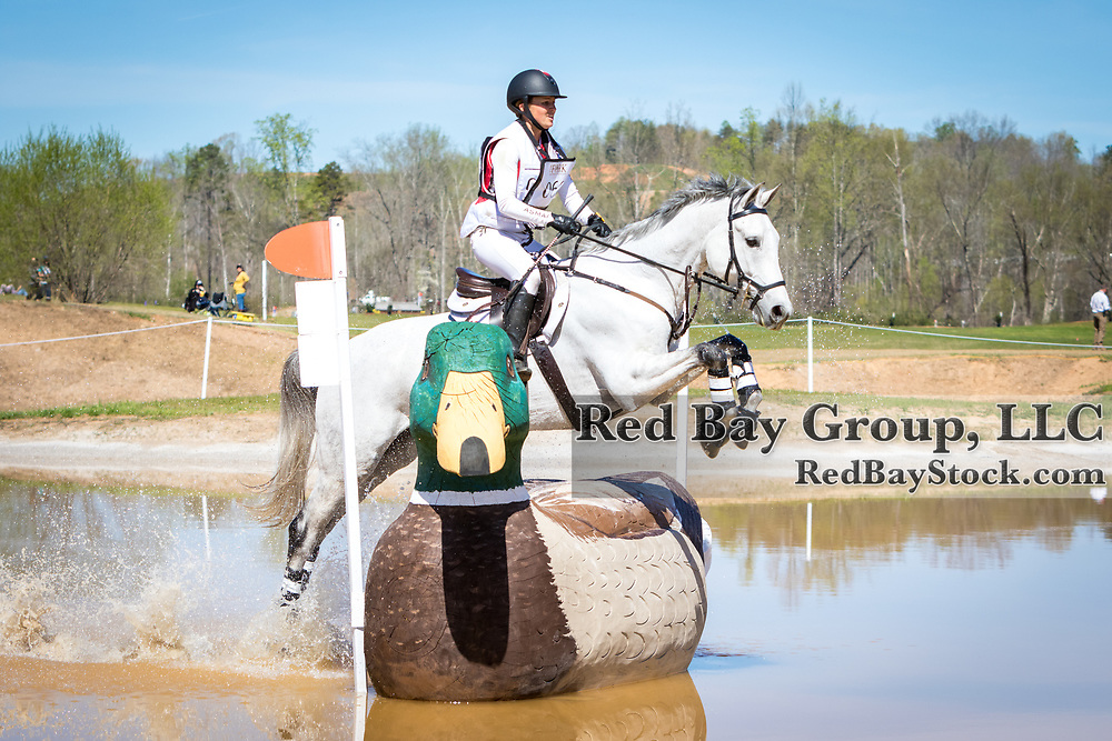 Jessica Phoenix (CAN) and Bentleys Best at The Fork Horse Trials at the Tryon International Equestrian Center in Millbrook, North Carolina.