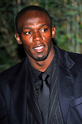 Usain Bolt attends the Zeitz Foundation and ZSL gala at London Zoo, London, UK, November 22, 2012. Photo by Chris Joseph / i-Images.