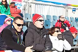"""14.01.2012, Patscherkofel, Innsbruck, AUT, Olympische Jugend Winterspiele, Ski Alpin, Super G, Herren, im Bild der regierende Fürst von Monaco und Oberhaupt der Familie Grimaldi Albert II. mischte sich unter das Publikum // the reigning prince of Monaco, Albert II Grimaldi, head of the family mingled with the audience during the Mens Super G of the Winter Youth Olympic Games at the """"Patscherkofel"""", Innsbruck, Austria on 2012/01/14, EXPA Pictures © 2012, PhotoCredit: EXPA/ Juergen Feichter"""