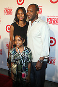 Jeff and Nicole Friday and daughter at ' The Young Hollywood ' panel at The 2008 American Black Film Festival  held at The Writers Guild of America on August 9, 2008...The Festival film slate is primarily composed of world premieres (shorts, narrative features and documentaries), positioning it as the leading film festival in the world for African American and urban content. Since its inception ABFF, has screened over 450 films and has rewarded and redefined artistic excellence in independent filmmaking.