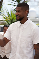 Usher Raymond IV at the Hands Of Stone film photo call at the 69th Cannes Film Festival Monday 16th May 2016, Cannes, France. Photography: Doreen Kennedy
