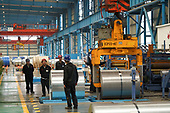 Steel factory Rizhao Shandong