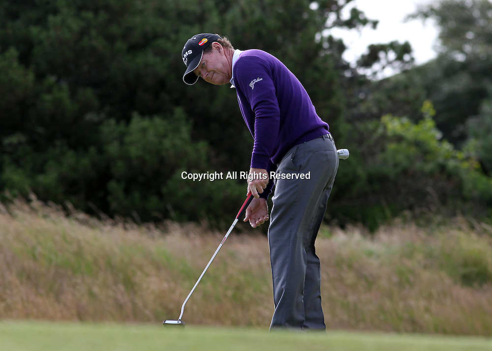 22.07.12 Lytham & St Annes, England. American Tom Watson in action during the fourth and final round of The Open Golf Championship from the Royal Lytham & St Annes course in Lancashire