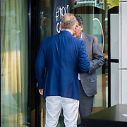 NLD/Amsterdam/20160830 - Nieuw TAG Hauer horloge, Marcel Boekhoorn in gesprek met Won Yip
