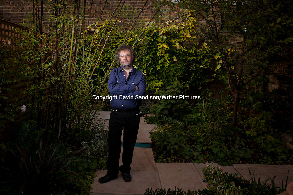 Stephen Poliakoff, acclaimed British playwright, director and script-writer, best known for his work as a television dramatist. Photographed at home in west London.<br /> 18th September 2013<br /> <br /> Photograph by David Sandison/Writer Pictures<br /> <br /> <br /> WORLD RIGHTS