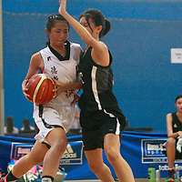 Clementi Sports Hall, Tuesday, April 5, 2016 — Singapore Chinese Girls' School (SCGS) saw off North Vista Secondary 50-39 to book a spot in the semi-finals of the National B Division Basketball Championship. This was the second win for SCGS in Round 2 after a previous victory over Deyi.