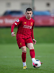 LIVERPOOL, ENGLAND - Monday, February 24, 2020: Liverpool's Adam Lewis during the Premier League Cup Group F match between Liverpool FC Under-23's and AFC Sunderland Under-23's at the Liverpool Academy. (Pic by David Rawcliffe/Propaganda)