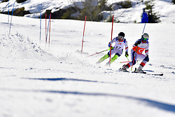 CIVADE Thomas, Guide: LARMET Kerwan, B3, FRA, Slalom at the WPAS_2019 Alpine Skiing World Cup Finals, Morzine, France