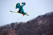 PYEONGCHANG-GUN, SOUTH KOREA - FEBRUARY 18: Russell Henshaw of Australia during the Freestyle Skiing Men's slopestyle final on day nine of the PyeongChang 2018 Winter Olympic Games at Phoenix Snow Park on February 18, 2018 in Pyeongchang-gun, South Korea. Photo by Nils Petter Nilsson/Ombrello               ***BETALBILD***