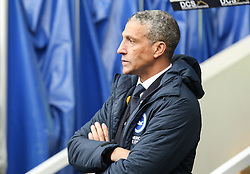 Brighton and Hove Albion manager Chris Hughton - Mandatory by-line: Arron Gent/JMP - 17/03/2019 - FOOTBALL - The Den - London, England - Millwall v Brighton and Hove Albion - Emirates FA Cup Quarter Final