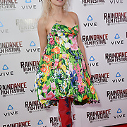 Chagall van den Berg  is a UX Designer nominated attends the Raindance Film Festival - VR Awards, London, UK. 6 October 2018.