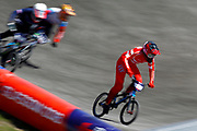 BMX Qualification, Simone Tetsche Christensen (Denmark) during the Cycling European Championships Glasgow 2018, at Glasgow BMX Centre, in Glasgow, Great Britain, Day 9, on August 10, 2018 - Photo luca Bettini / BettiniPhoto / ProSportsImages / DPPI<br /> - Restriction / Netherlands out, Belgium out, Spain out, Italy out -