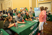 The Office of the Bursar participate in Bobcat Student Orientation. Photo by Ben Siegel