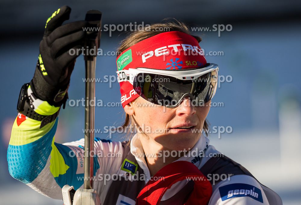 Andreja Mali (SLO) during Women 7,5 km Sprint at day 2 of IBU Biathlon World Cup 2015/16 Pokljuka, on December 18, 2015 in Rudno polje, Pokljuka, Slovenia. Photo by Vid Ponikvar / Sportida