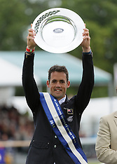 SEP 08 2013 New Zealand's Jonathan Paget wins Burghley