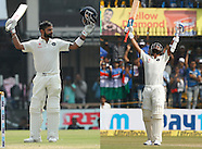 Cricket - India v New Zealand 3rd Test D2 at Indore