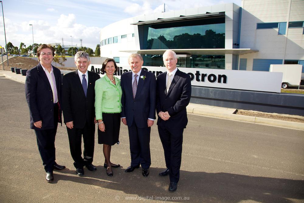 Simon Creans visit to the Australia Synchrotron