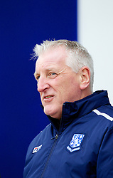 COLCHESTER, ENGLAND - Saturday, February 23, 2013: Tranmere Rovers' manager Ronnie Moore before the Football League One match against Colchester United at the Colchester Community Stadium. (Pic by Vegard Grott/Propaganda)