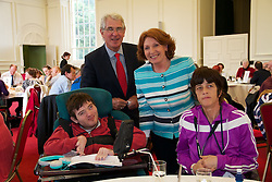 Your Voice Your Choice - new disability forum Launched...Kathleen Lynch T.D. Minister for Disability, Older People, Equality & Mental Health launched Your Voice Your Choice today (19 June 2012) in the Royal Hospital Kilmainham, Dublin. ..Pictured at the event were left to right;..Derek O'Brien from West Clare and Peter Mckevitt (NDA Chairperson), Patricia Kelly from West ClareKathleen Lynch, Minister for Disability, Equality, Mental Health and Older People... ?It is very important that we clearly hear the voice of people with disabilities in developing any policy or services that impact on their lives?, the Minister said. ?This event is about genuinely listening to the voices of people who often don't get an opportunity to have their voice heard and air their concerns and experiences?.  ?This event today ensures that the perspective of service users can inform the development and implementation plan for the National Disability Strategy?, she added..Your Voice Your Choice is about facilitating people with disabilities to have their say about issues that matter most to them in living with a disability. This is the first time this event was held and included people from around the country, drawn from a range of ages and from across the disability and mental health spectrum..?Today's event is unique in that it captures, at first hand, the lived experiences of individuals with disabilities. I have no doubt this will enrich our understanding of what needs to be continued and build on the progress to date,? said Peter McKevitt, Chairperson, National Disability Authority. ?We hope to make this an annual event?, he added..For those who could not make today's event they can have their say online at www.nda.ie .For more information contact: .Cathleen Mulholland/Donie O'Shea.National Disability Authority - 01 608 0400 cmmulholland@nda.ie/dposhea@nda.ie.Notes to Editor:.The National Disability Authority is the independent state body providing expert advice on disability policy a
