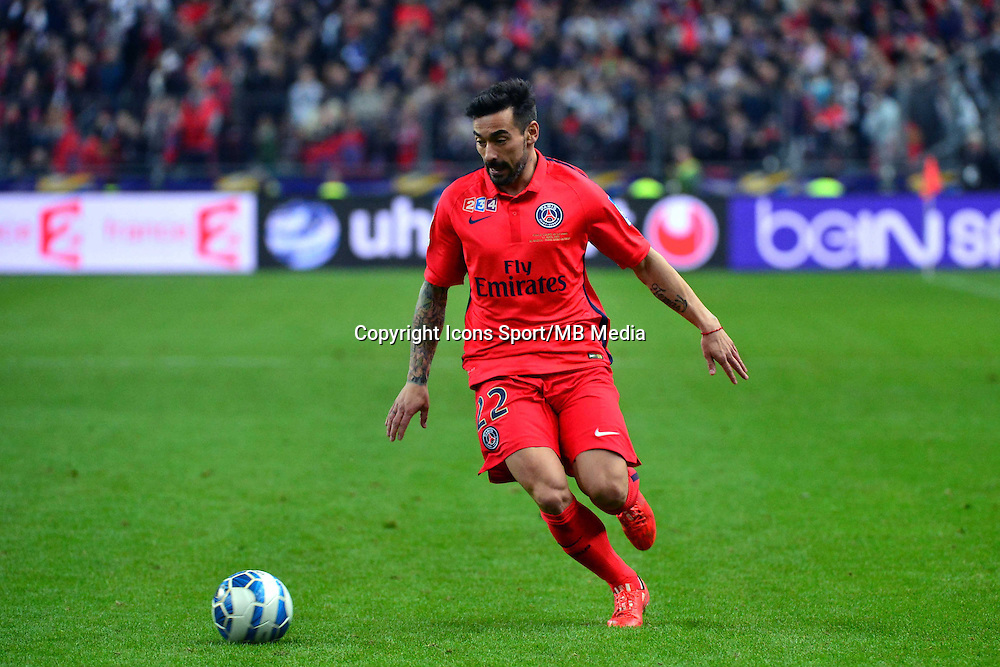 Ezequiel LAVEZZI    - 11.04.2015 -  Bastia / PSG - Finale de la Coupe de la Ligue 2015<br />