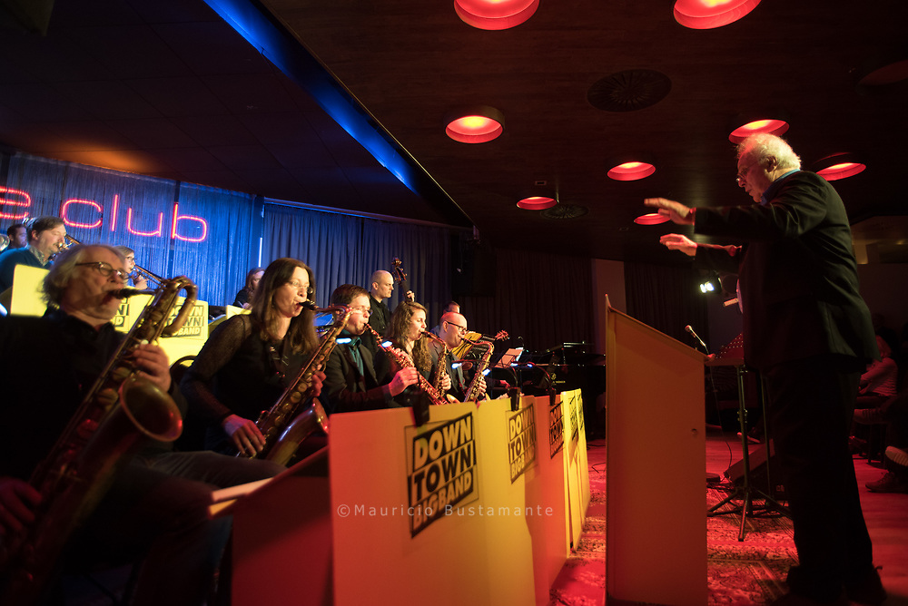 Downtown Bigband, Stage Club Hamburg 11.02.2018. Foto: Mauricio Bustamanate