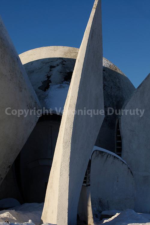 Crematorium; Park of eternal Glory, Kiev // Crematorium, parc de la gloire eternelle, Kiev