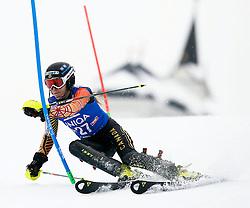 29.12.2013, Hochstein, Lienz, AUT, FIS Weltcup Ski Alpin, Damen, Slalom 2. Durchgang, im Bild Brittany Phelan (CAN) // Brittany Phelan of (CAN) during ladies Slalom 2nd run of FIS Ski Alpine Worldcup at Hochstein in Lienz, Austria on 2013/12/29. EXPA Pictures © 2013, PhotoCredit: EXPA/ Oskar Höher