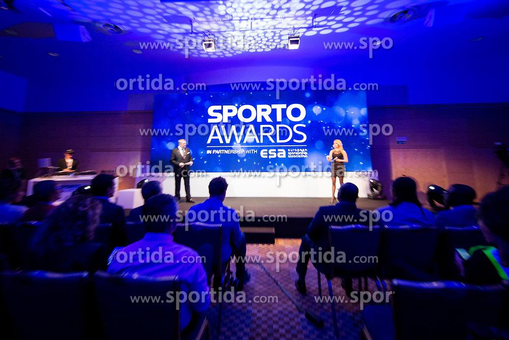 Sporto awards during Sports marketing and sponsorship conference Sporto 2017, on November 16, 2017 in Hotel Slovenija, Congress centre, Portoroz / Portorose, Slovenia. Photo by Vid Ponikvar / Sportida