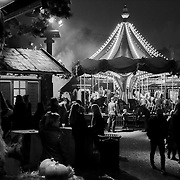 This scene unfolded in front of my eyes at Tivoli Gardens in Copenhagen on Halloween Night. One of my favorites.