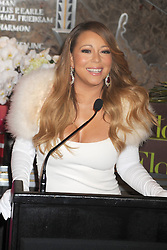 61065603<br /> Mariah Carey starts the 20 Valentines  day weddings Event in The Empire State Building, New York, US, Thursday, 13th February 2014. Picture by  imago / i-Images<br /> UK ONLY