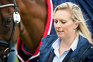 Gemma Tattersall (GBR) & Arctic Soul - First Horse Inspection - Longines FEI European Eventing Championships - Blair Castle, Scotland - 09 September 2015