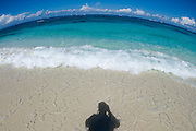 Shoal Bay East, maybe the finest beach of the entire Caribbean.