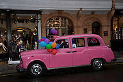 PINK TAXI, The Launch of the Lanvin store on Mount St. Presentation and cocktails.  London. 26 March 2009