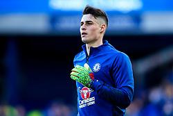Kepa Arrizabalaga of Chelsea - Mandatory by-line: Robbie Stephenson/JMP - 17/03/2019 - FOOTBALL - Goodison Park - Liverpool, England - Everton v Chelsea - Premier League