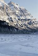 Winter, Snow, Sun, Mountains, Peaks, Forest, Glacier National Park, Montana
