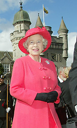 THE FINAL DAY OF THE JUBILEE TOUR ENDS WITH A GARDEN PARTY IN THE GROUNDS OF BALMORAL CASTLE IN SCOTLAND ATTENDED BY HM QUEEN, PRINCE PHILIP AND THE PRINCE OF WALES..ROYAL ROTA PHOTOGRAPH IAN JONES