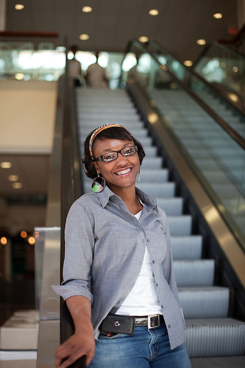 Crystalyn Thomas-Davis.Ohio University Admissions Book Portrait