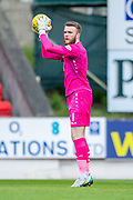 Zander Clark (#1) of St Johnstone FC holds the ball during the Ladbrokes Scottish Premiership match between St Johnstone and Motherwell at McDiarmid Stadium, Perth, Scotland on 11 May 2019.
