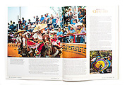 """Pageant of the Charro"" for Texas Highways Magazine, south Texas charreada and Mexican rodeo culture."