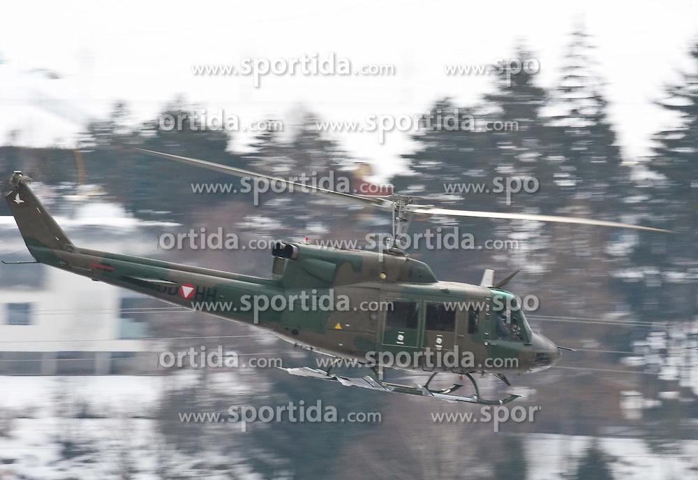 23.02.2010, Haspinger Kaserne, Lienz, AUT, Bundesheer Hubschrauber, im Bild Augusta Bell 212 Huey, des österreichischem Bundesheeres, EXPA Pictures © 2010, PhotoCredit: EXPA/ J. Feichter / for Slovenia SPORTIDA PHOTO AGENCY.