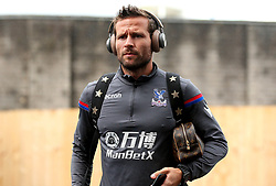 Yohan Cabaye of Crystal Palace arrives at Turf Moor for the Premier League fixture against Burnley - Mandatory by-line: Robbie Stephenson/JMP - 10/09/2017 - FOOTBALL - Turf Moor - Burnley, England - Burnley v Crystal Palace - Premier League