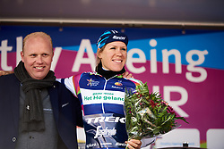 Stage winner, Ellen van Dijk (NED) at Healthy Ageing Tour 2019 - Stage 4A, a 14.4km individual time trial starting and finishing in Winsum, Netherlands on April 13, 2019. Photo by Sean Robinson/velofocus.com