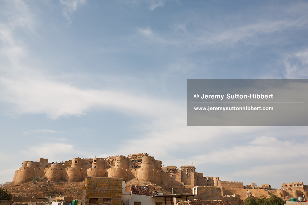 Jaisalmer Fort, in Rajasthan, India, on 24th December 2011.