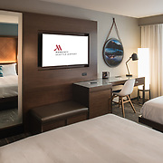 Seattle Airport Marriott Hotel - Guest Room, 2 Double