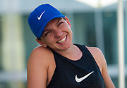 Simona Halep of Romania talks to the media during All Access Hour at the 2020 Adelaide International WTA Premier tennis tournament Photo Rob Prange / Spain ProSportsImages / DPPI / ProSportsImages / DPPI
