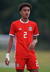 WREXHAM, WALES - Wednesday, October 30, 2019: Wales' Zachary Bell during the 2019 Victory Shield match between Wales and Republic of Ireland at Colliers Park. (Pic by David Rawcliffe/Propaganda)