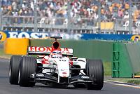 Formel 1, AUTO - F1 2004 - AUSTRALIA GP - MELBOURNE 20040307 - PHOTO : GILLES LEVENT / DPPI<br /> N¡ 10 - TAKUMA SATO (JPN) / BAR HONDA - ACTION