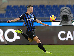 October 29, 2018 - Italy - Ivan Perisic during the Italian Serie A football match between S.S. Lazio and Inter at the Olympic Stadium in Rome, on october 29, 2018. (Credit Image: © Silvia Lor/Pacific Press via ZUMA Wire)