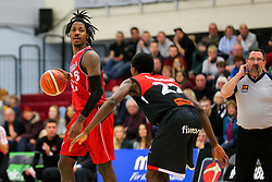 Lovell Cook of Bristol Flyers - Rogan Thomson/JMP - 05/11/2016 - BASKETBALL - SGS Wise Arena - Bristol, England - Bristol Flyers v Leicester Riders - BBL Championship.